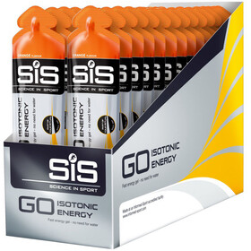 SiS GO Isotonic Energy Gel Caja 30x60ml, Orange